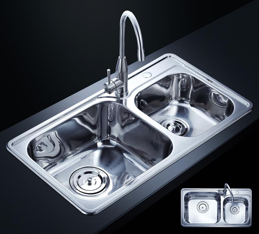 了解不同材质水槽的保养方法